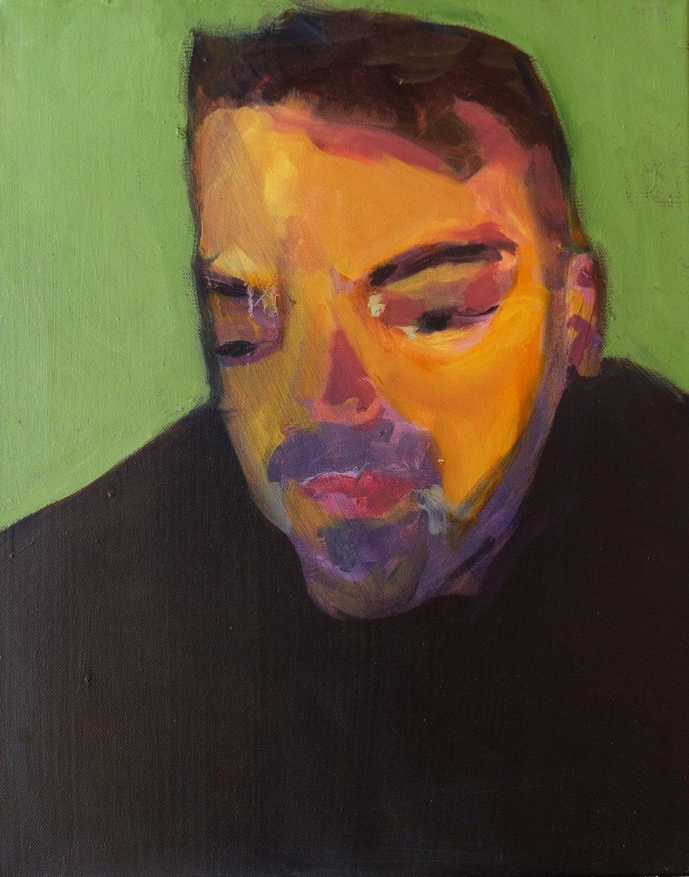 "Lara Feldman ""Ensconced"" Oil on Canvas 50 x 40cm R7 800"