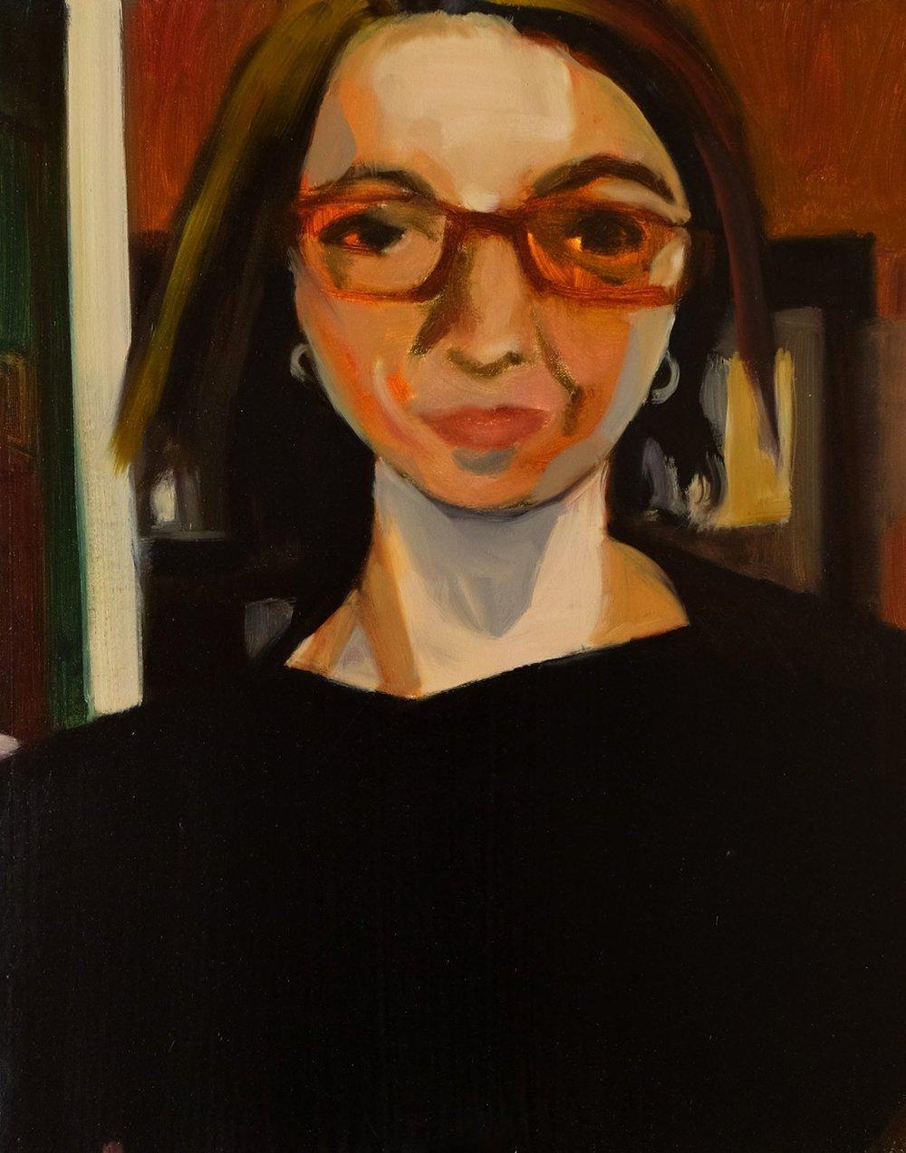 "Lara Feldman ""Berliner"" Oil on Canvas 50 x 39,5cm R7 800"