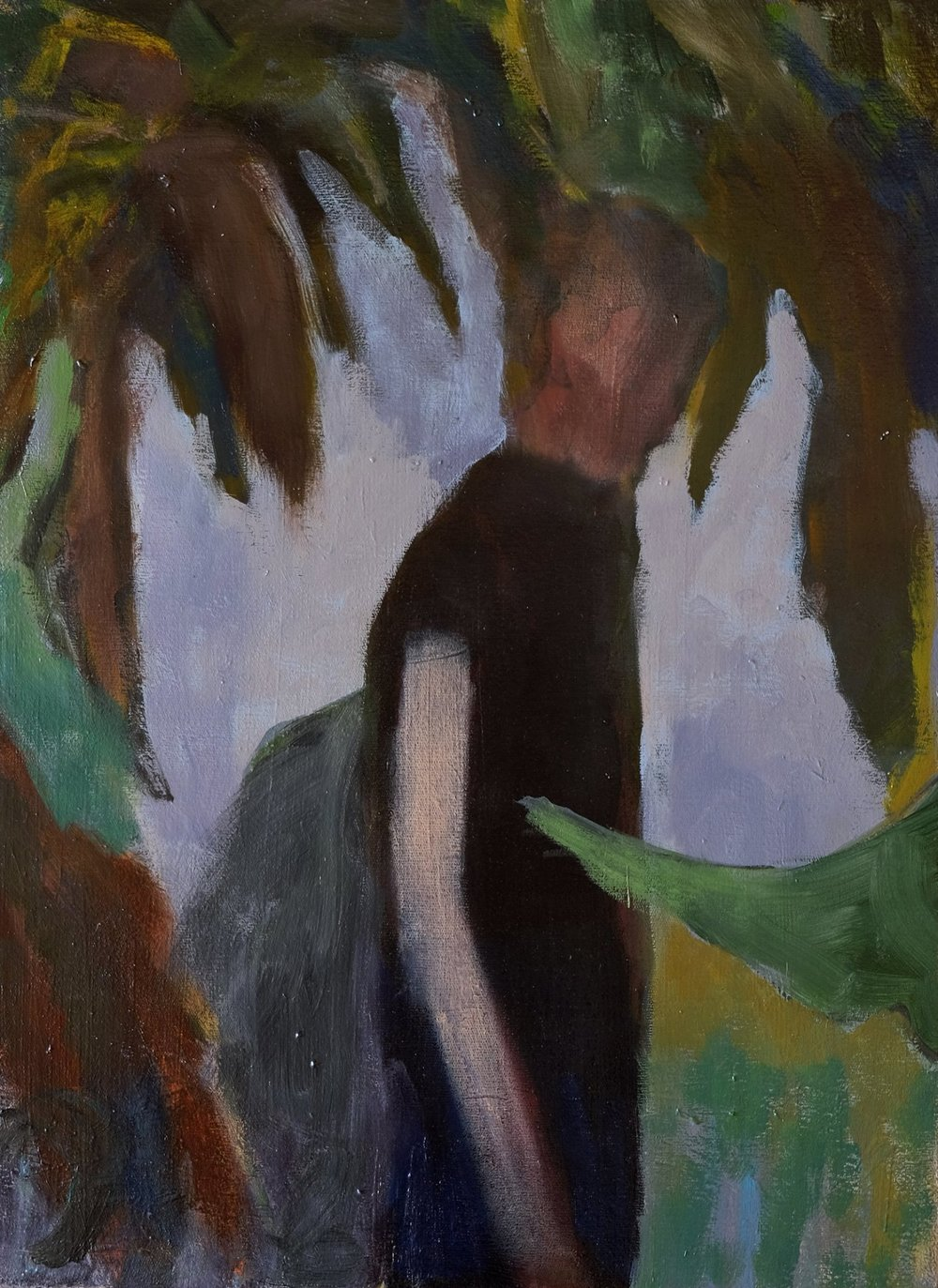 "Lara Feldman ""In the Forest"" Oil on Canvas 54,5 x 40cm R8 400"