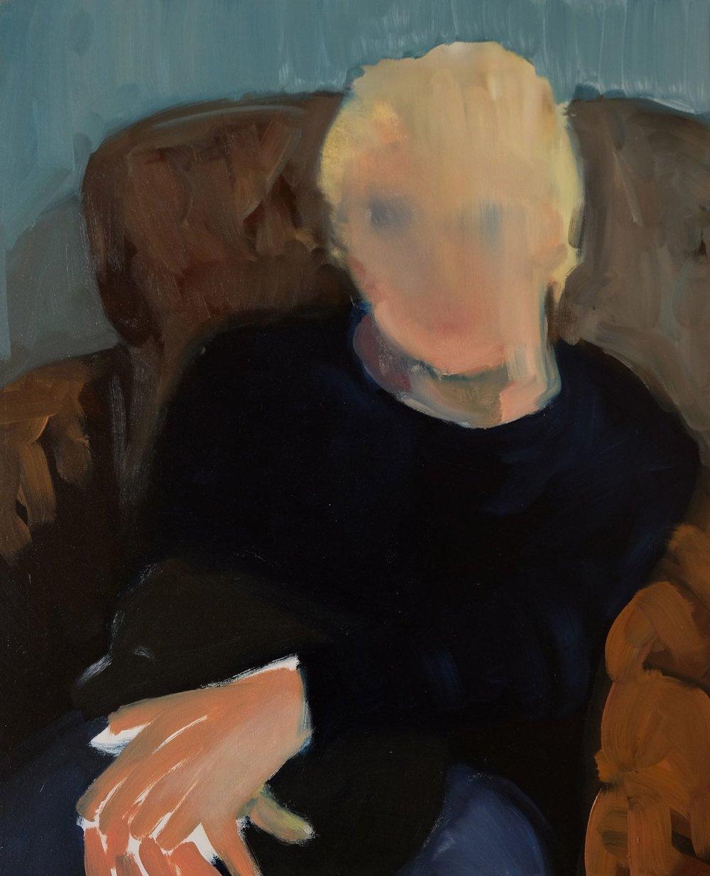 "Lara Feldman ""In Her Arms"" Oil on Canvas 50 x 47,5cm R8 200"