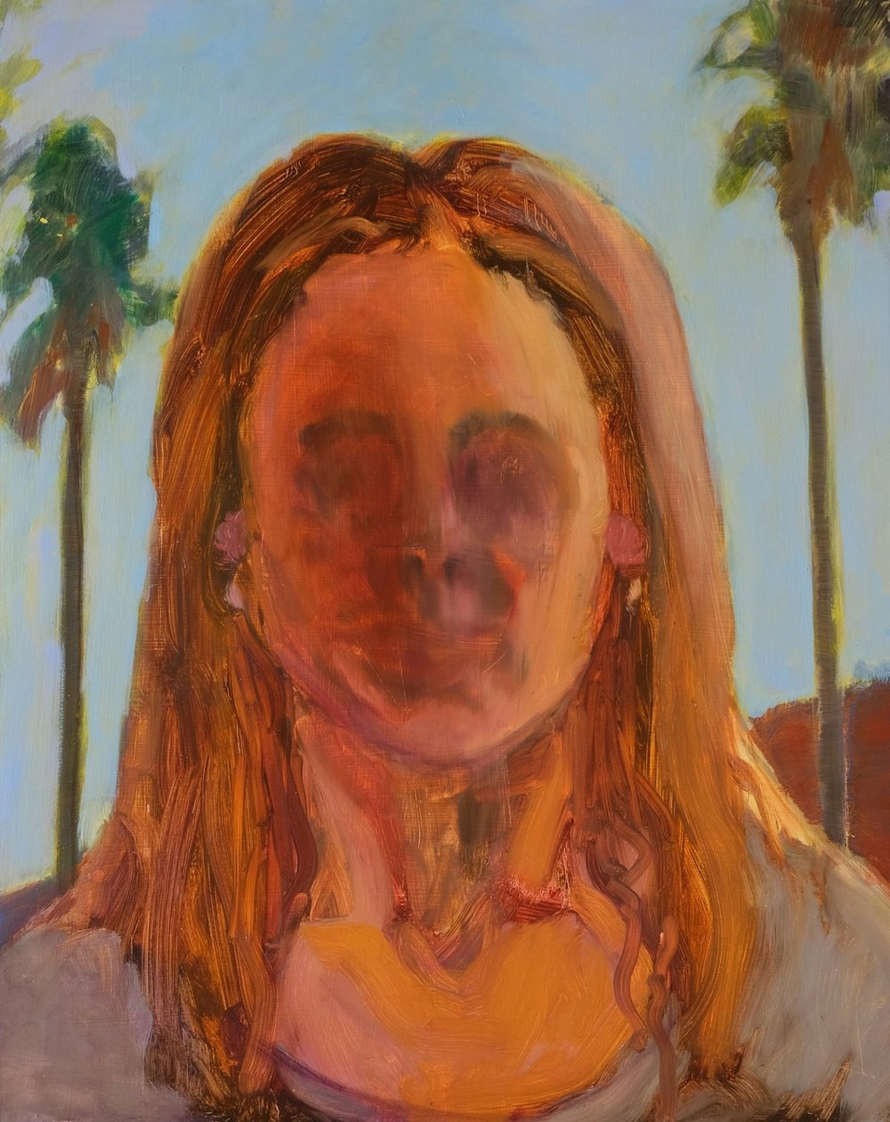 "Lara Feldman ""Emergence"" Oil on Panel 75 x 60cm R12 400"