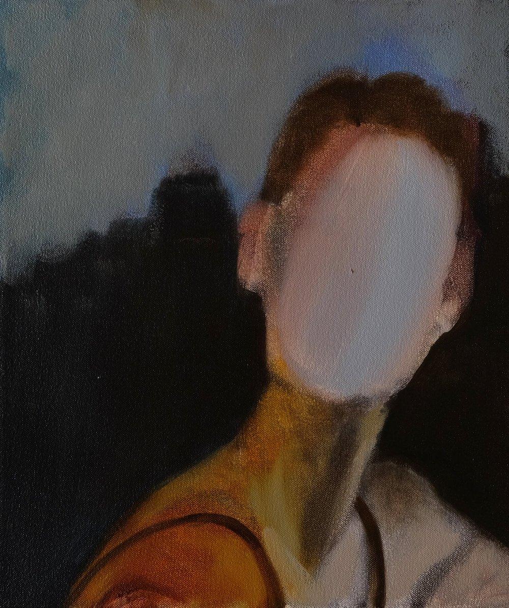 """Lara Feldman """"George"""" Oil on Canvas 35 x 30cm R5 200"""