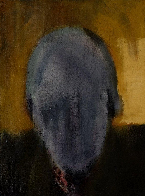 "Lara Feldman ""Good Man"" Oil on Canvas 40 x 29,5cm R6 800"