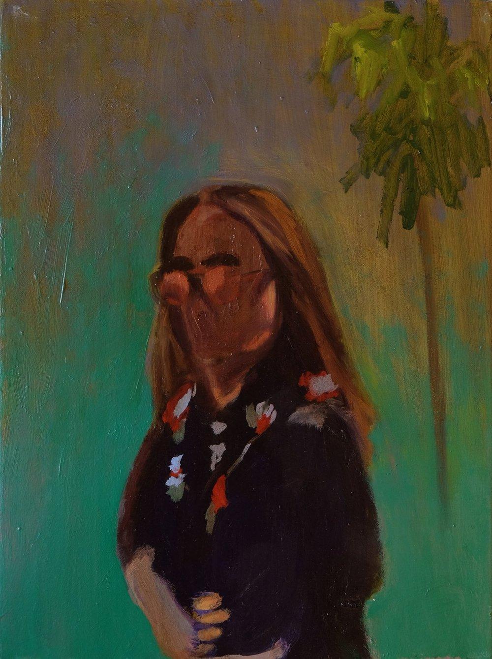 """Lara Feldman """"Rooted"""" Oil on Canvas 40 x 29,5cm R6 400"""