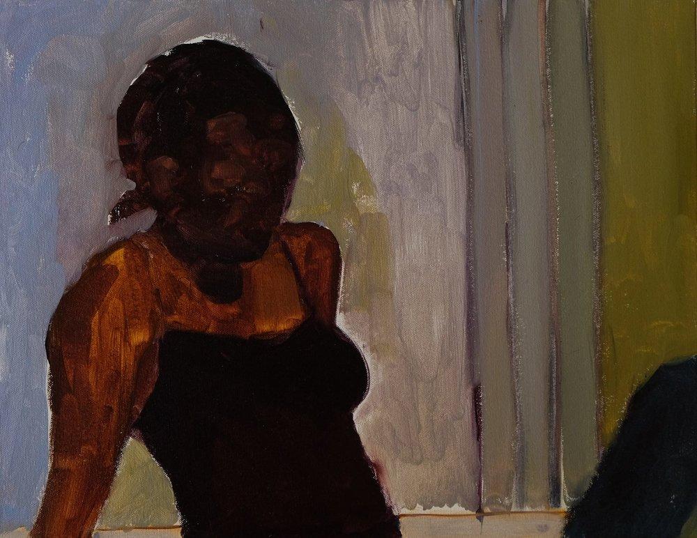 "Lara Feldman ""Portia I"" Oil on Canvas 35,5 x 45,5cm R6 200"