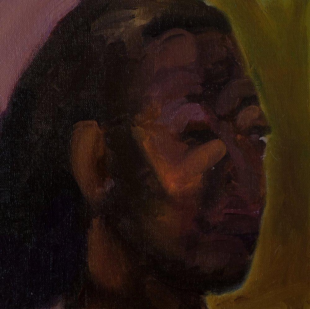 "Lara Feldman ""Portia II"" Oil on Canvas Board 25,5 x 25,5cm R4 200"