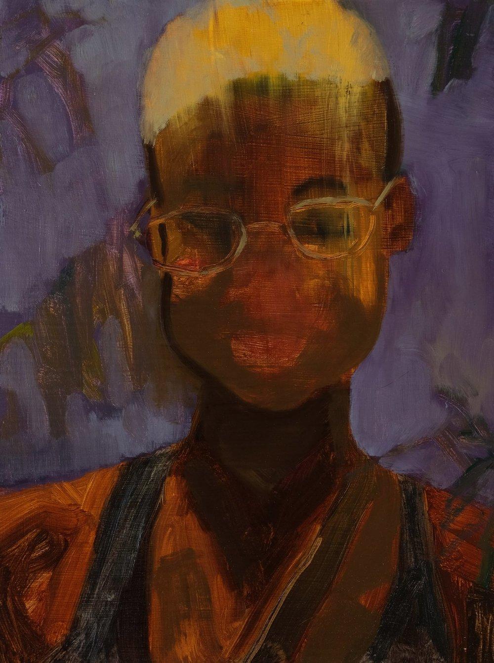 """Lara Feldman """"Something About Her"""" Oil on Canvas Board 40 x 30cm R6 800"""