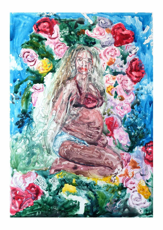 Please Hold, Beyoncé Just Dropped an Entire Pregnancy Album (Huffington Post)