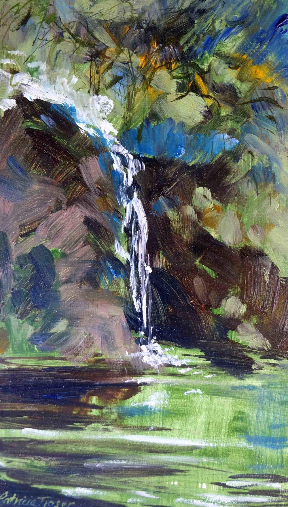 Memory Waterfall #2