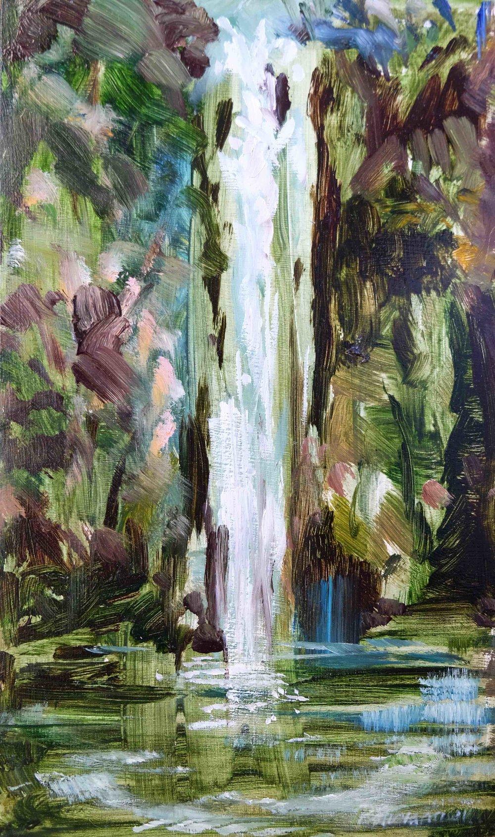Memory Waterfall #1