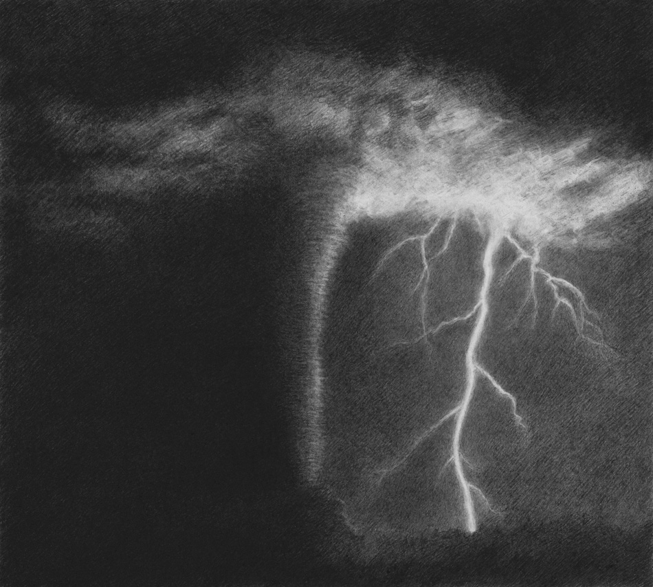 Lightning, 2008, pencil on paper, 21x24cm.jpg