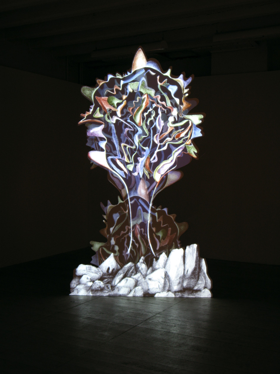 Thought-Form, 2009, videoinstallation, 260x150cm.jpg