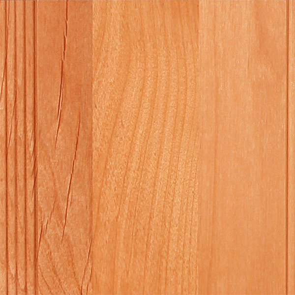 Alder  Naturally light brown in color with a yellow or reddish tinge. Grain is relatively straight; knots and other natural defects are common but can be selected out. See Alder Stains.