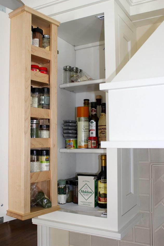 Door-Mounted Spice Rack
