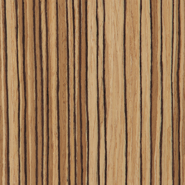 Quarter Zebrawood / Natural  Standard Series