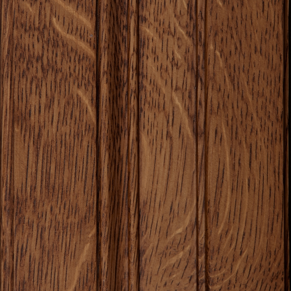 Quarter Sawn White Oak   All the finest qualities of Oak, plus it holds finish better; reduces shrinking, swelling, twisting, warping and cupping. Does not allow liquids to readily pass through, reduces shrinking and swelling. Less prone to surface checking. See   Quarter Sawn White Oak  .