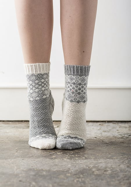 Alfrick Socks by Rachel Coopey from Ravelry