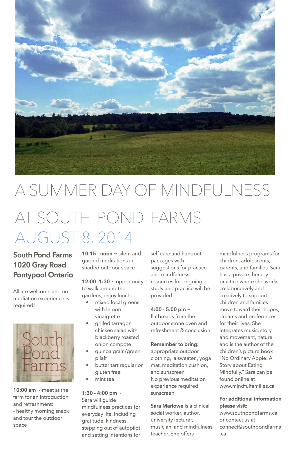 A Summer Day of Mindfulness  copy