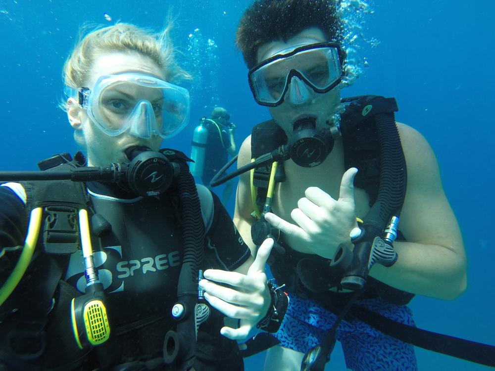 Shark Reef Marine Reserve with Noah.