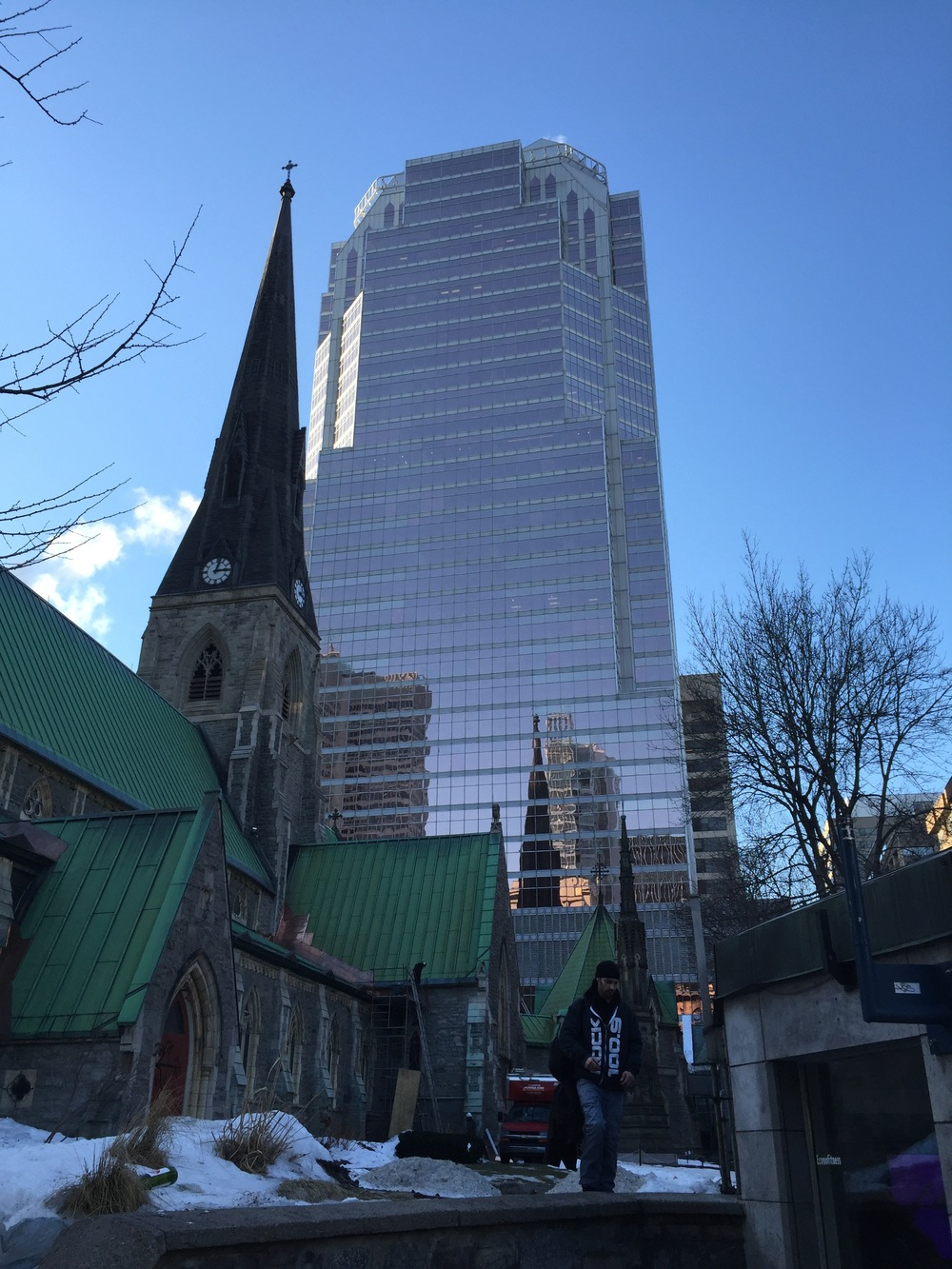 Site seeing in Montreal