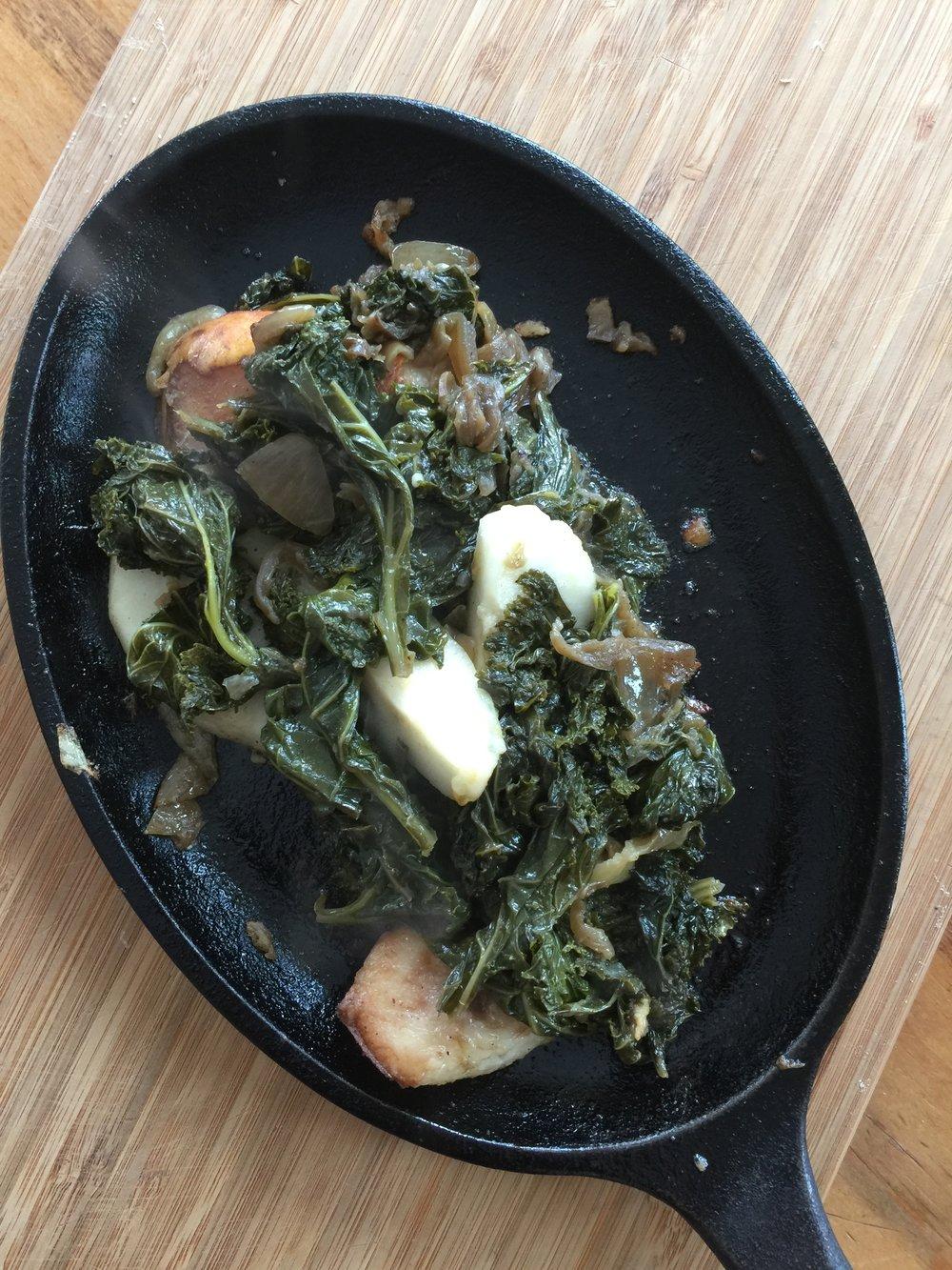 South Pond Braised Kale