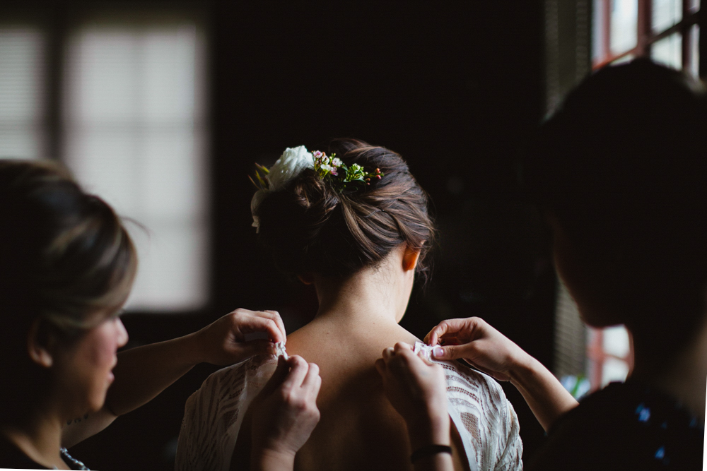 Getting ready at South Pond. Agatha Rowland Photography.