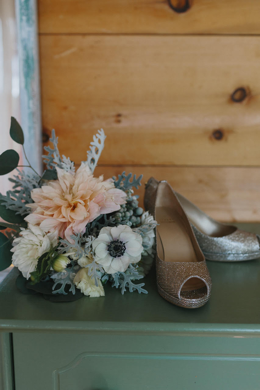 Alcide-Drake Wedding at South Pond Farms. Photograph by Ryanne Hollies