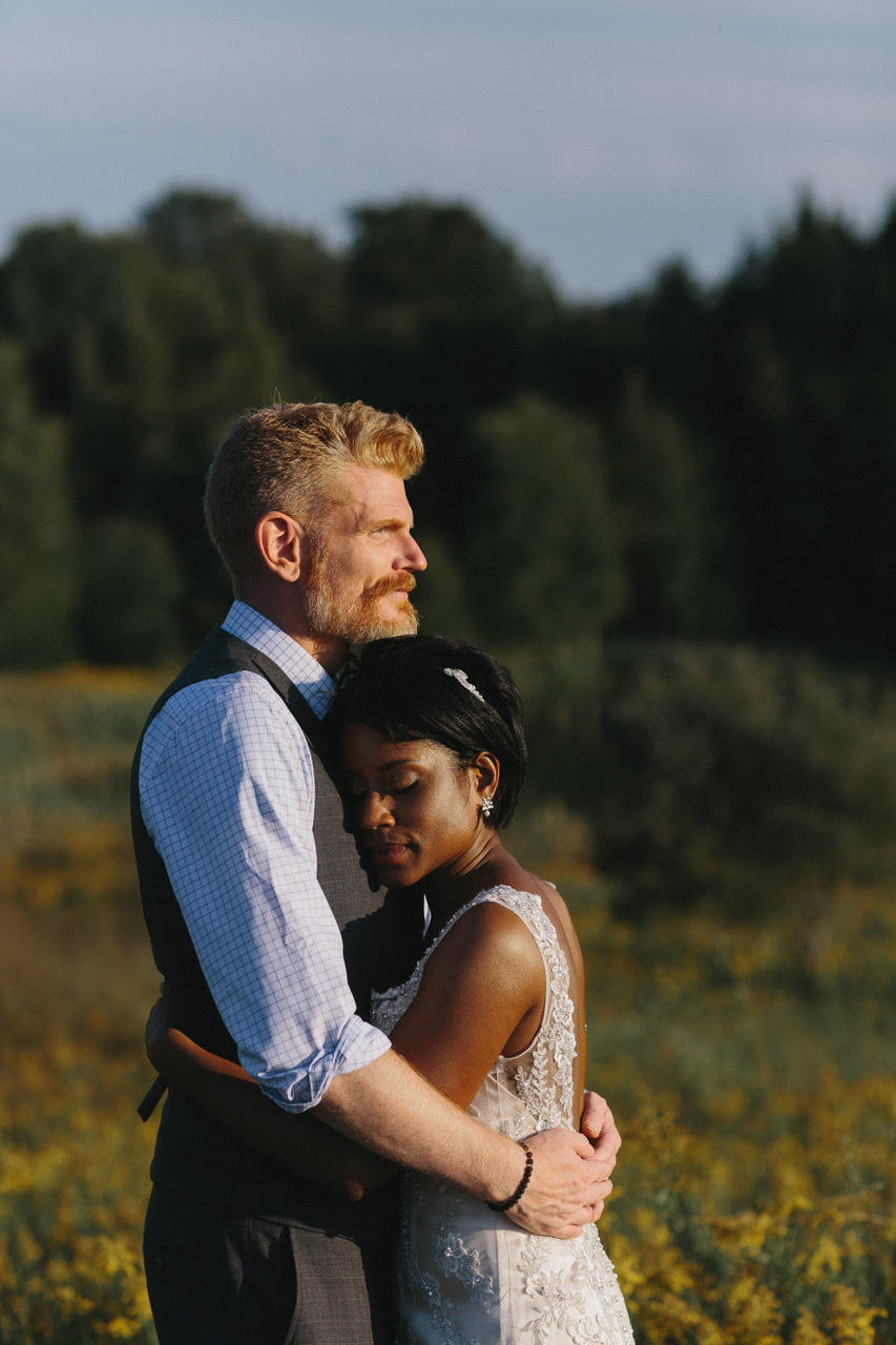 Anica and Joseph at South Pond Farms. Photograph by Ryanne Hollies.