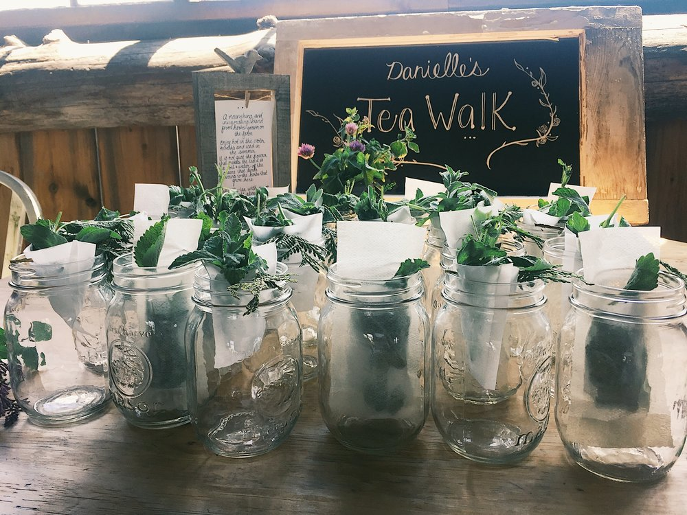 Danielle's Tea Walk at South Pond Farms #teawalkwednesday
