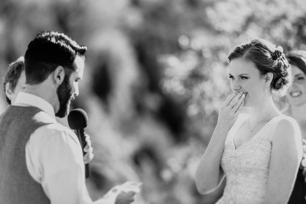 The most important detail ... marrying the love of your life. Photo Credit: Agatha Rowland Photography