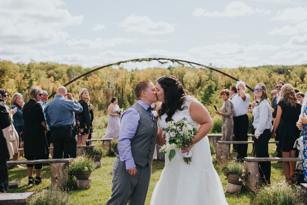 Married at last!