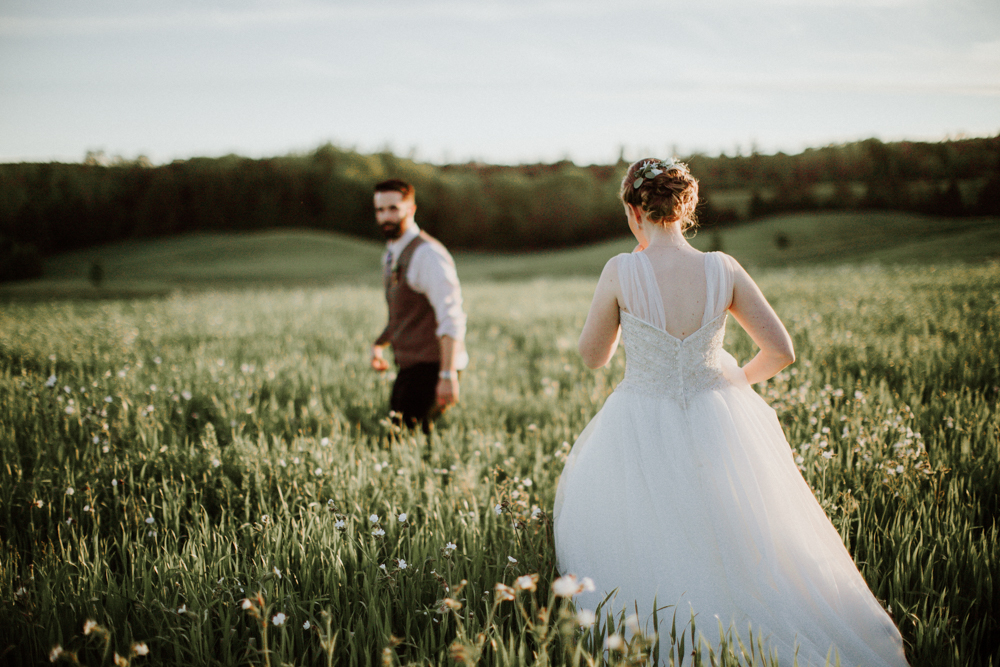 Strolling through the Fields at South Pond. Photography: Agatha Rowland Photography