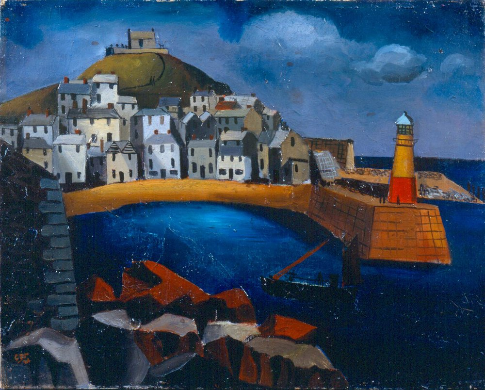 The Harbour, Christopher Wood, 1926.JPG