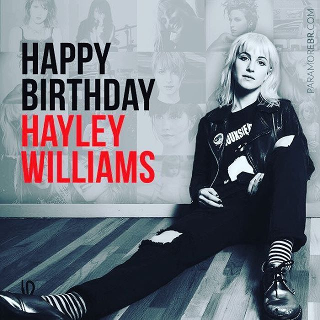 Happy 30th Birthday to our queen @yelyahwilliams we hope you're having a cracking day 💕 #paramoretributeband #paramoreorless #paramore #paramoretribute #paramoreisaband #hbdhayleywilliams