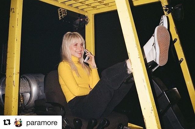 #Repost @paramore with @get_repost ・・・ To one of the very best humans we've ever known - our brilliant leader, our most thoughtful cheerleader, our baddest badass, our brightest light, our heartbeat, and our best pal. Happy Birthday, Hayley. The world is most certainly a far better place with you in it. - Taylor and Zac (posted by management)