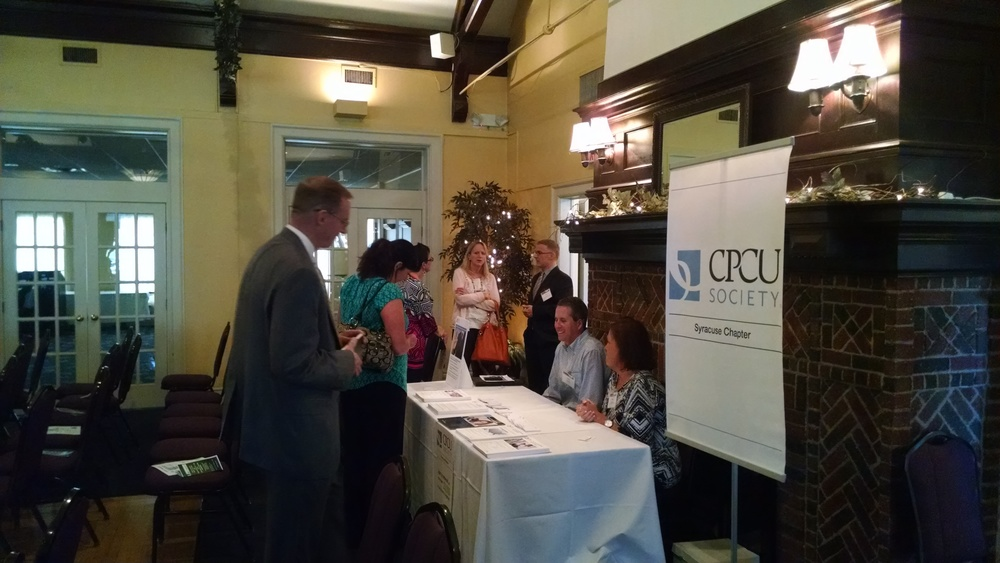 Syracuse Society of CPCU co-sponsored the event