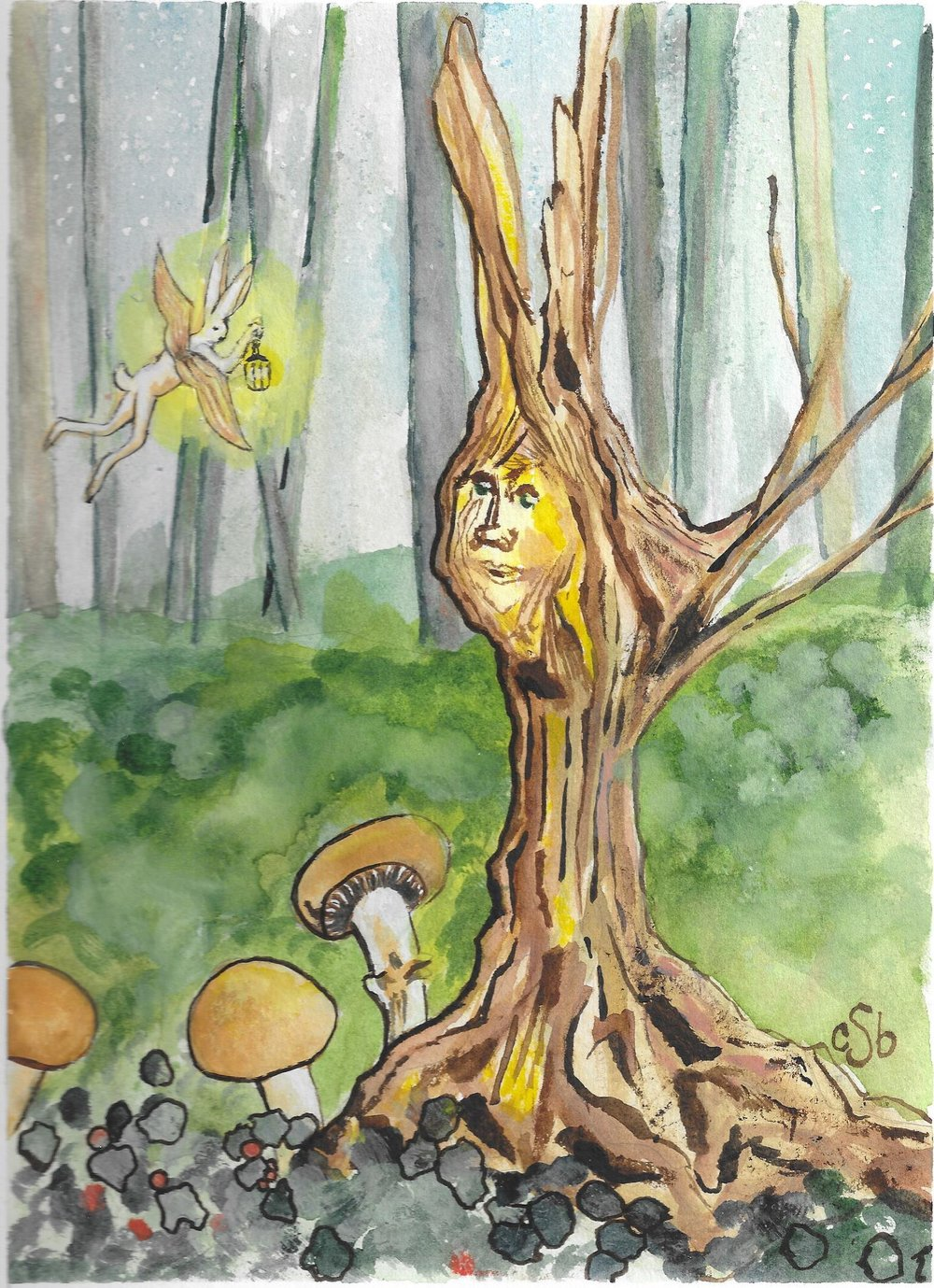 Bunny Fairy and the Old Tree