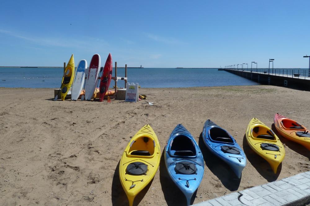Kayak Harbor Beach