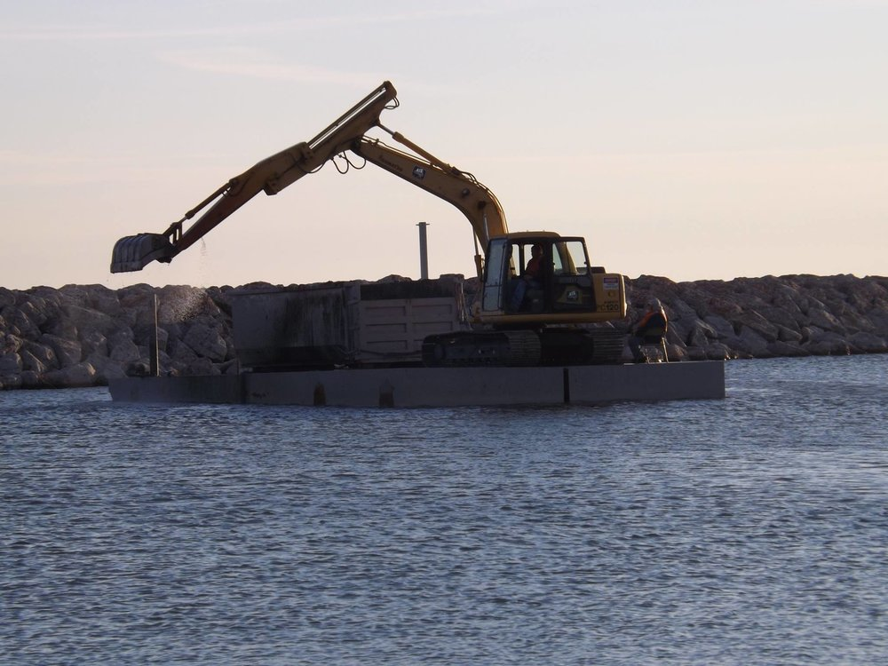 Dredging the Harbor