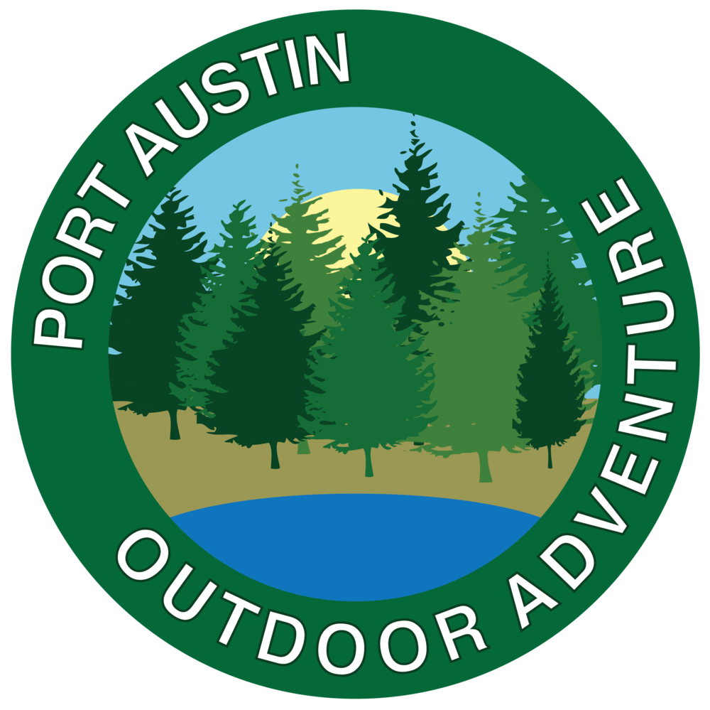 Port Austin Outdoor Adventure Logo