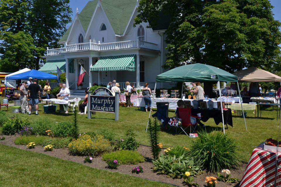 Farmers Market on the Frank Murphy Museum Grounds