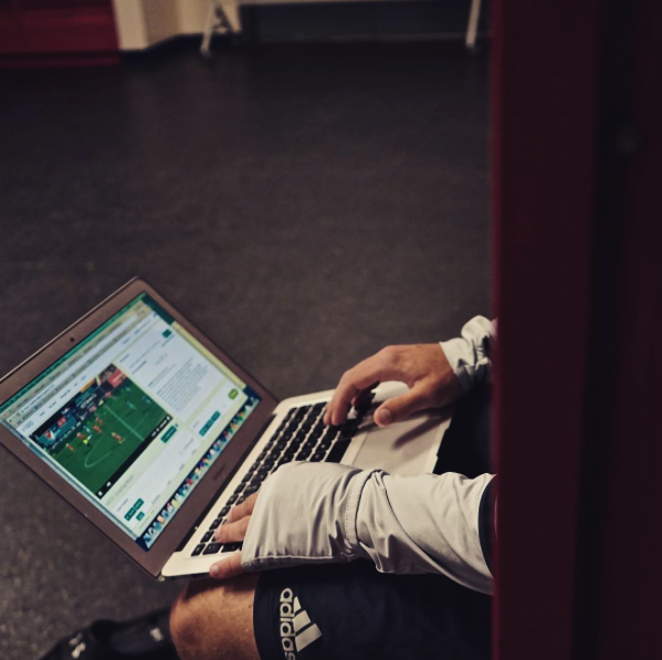 Video Analysis (in this case vLoop) allows coaches to receive visual as well as written and verbal feedback.