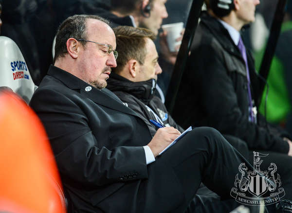 Rafa Benitez is never far from his notepad and pen as he plans everything from session's to team talks