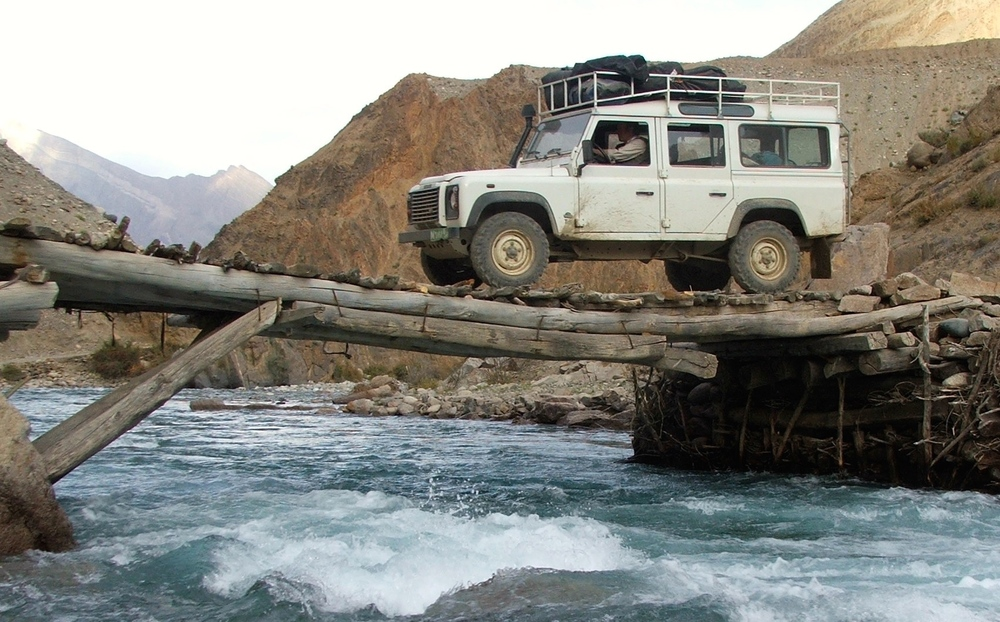 Bridge over troubled waters, somewhere in Afghanistan