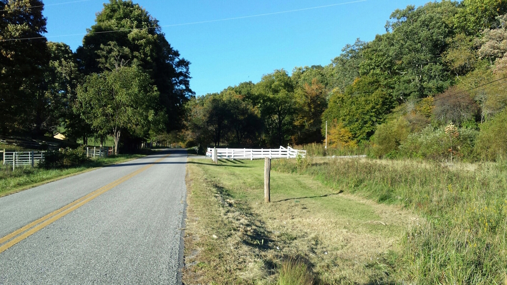 Approach to property entrance on Smith Hollow Road.jpg