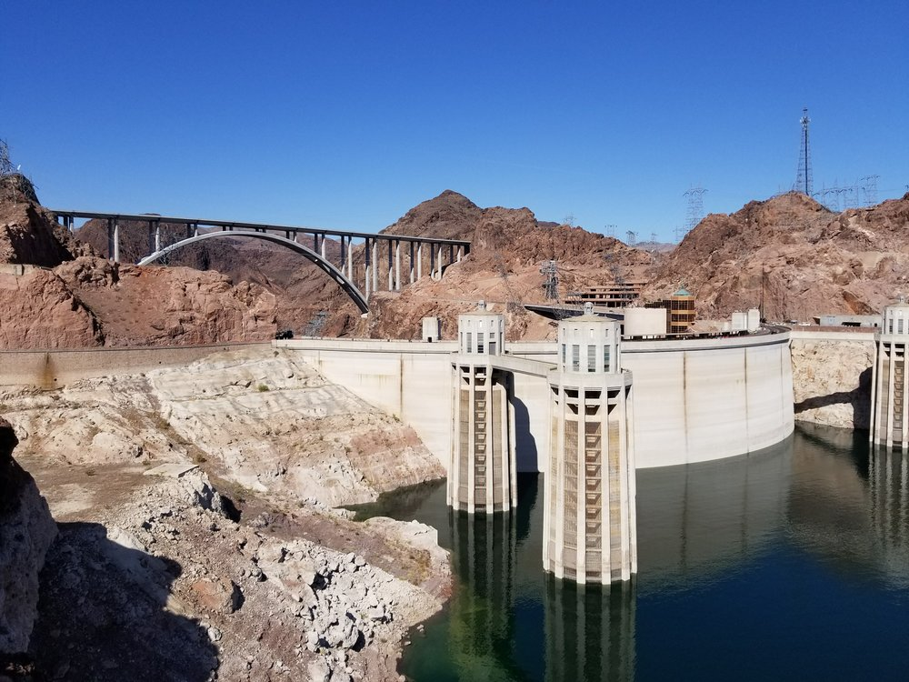Hoover Dam-beautiful and functional.