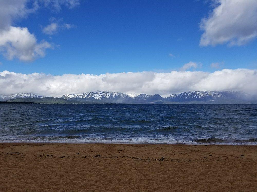 Lake Tahoe---windy windy day.