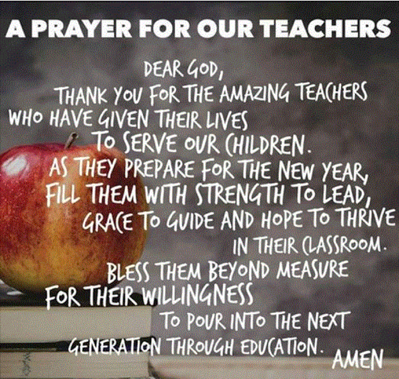 Soraya Diase Coffelt Blog Pray for Your Children's Teachers