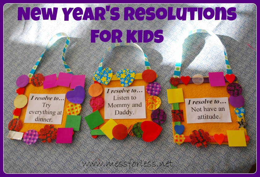Soraya Coffelt Children New Year's Resolutions