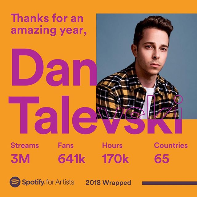 this is crazy. thank you so much for listening ❤️ @spotify